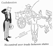No control over trade between states