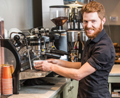 Barista for Amy Beverland