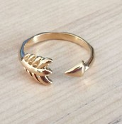 Gilded Arrow Ring S/M