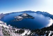 7th deeps lake called Crater Lake