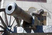 The Cannon Statue