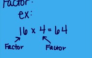 Example of a factor