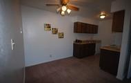 Plenty cabinet and closet space