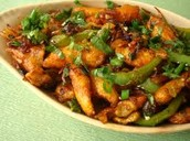 Crispy Fried Babycorn in Manchurian Style
