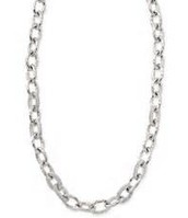 Christina Link Necklace - Silver