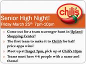 SR. HIGH NIGHT (3/25)