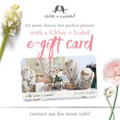 Don't forget e-gift cards!