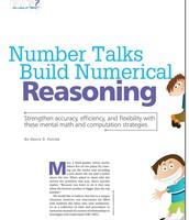 Number Talks Build Numerical Reasoning