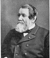 Every picture I found of Cyrus McCormick, he looks like someone took his parking spot