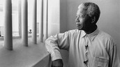 Mandela in Robben Island Prison