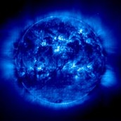 The Sun with UV