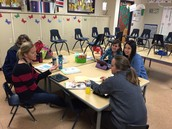 Our K LODL team working with grade level mentors