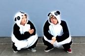 We're pandas, buy the yearbook