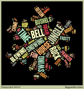 Jingle Bell Rock Lyric Tagxedo