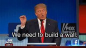 Why the speech of Donald Trump speech saying'' we need to build a wall?''