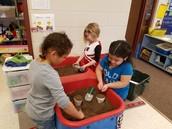 Dirt Sensory Play