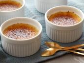 Une Crème Brûlée (De la crème, du sucre, et de l'œuf)