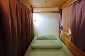 舒適單人床空間
