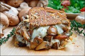 Mushroom and potato