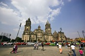 Ubicada en el Centro Histórico de la Ciudad de México.
