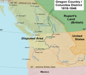 1827 UK & US jointly agree to occupy Oregon