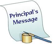 Principal's Corner   10/25/2017