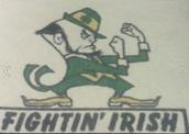 Notre Dame Mascot Logo