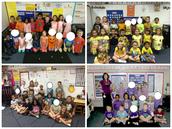 Kindergarten Color Days