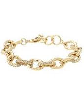 Christina Link bracelet in gold $24.50