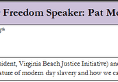 Stand for Freedom Speaker 1