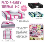 Pack a Party Thermal- $20