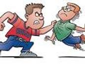 un élève peut être victime d'intimidation physique, si