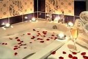 Honey moon bath