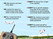 Are there any rules to fly a model airplane?