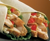 THE HEALTHY CHICKEN WRAP