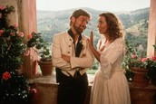 Benedick and Beatrice falling in love