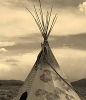 The places they live in was tepees.