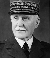 French General Philippe Petain