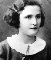 Eva Galler at age 14