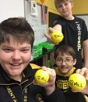 Stress Balls from Ms. Langendoerfer