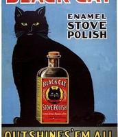 Black Cat Stove Polish