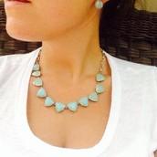 SOLD! Somervell Necklace - aqua