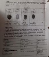 Lab #5 Fingerprints