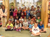 Ms. Johannes' class at Barnes and Noble