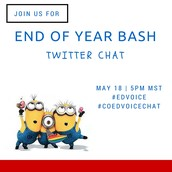 Twitter Chat: May 18 at 5PM MST