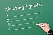Faculty Meeting Agenda