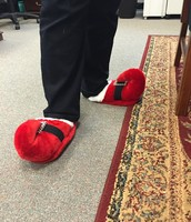 Holiday Slippers at its Best!