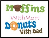 Donut with Dads and Muffin with Moms
