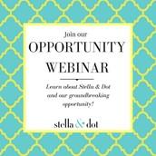 Share the Opportunity webinar!
