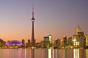 La ville de       Toronto